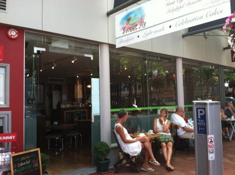 Ford's cafe on Trafalgar street.