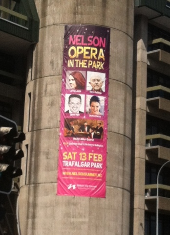 City center Opera advertisement.