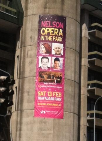City center Opera advertisement.