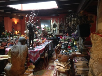 The Tweed River Gallery, featuring the Margaret Olley Center where an exhibition of her home in Sydney has been recreated room by room. Organized chaos!
