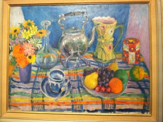 Margaret Olley, famous for her still life paintings.