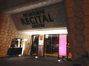 The Melbourne Recital Center right around the corner from my apartment and across the street from the National Gallery and the Arts District. The Metropolis New Music Festival was going on and many of the events were free!