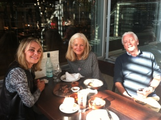 Lunch at the Innocent Bystander after a lovely day visiting the Yarra Valley Region with new friends Janet and her husband Barry. Janet was the source of many insider places to visit while in Melbourne!