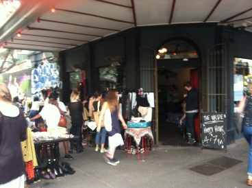Gertrude Street just outside the free tram zone. Great shopping and fashion with a hipster edge.