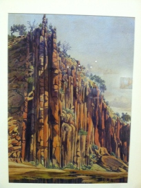 One of Albert Namatjira's paintings.