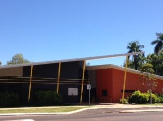 The Kununurra Community & School Library right across the street. I was able to get a temporary library card. Great selection of movies too! The high school is right next door.