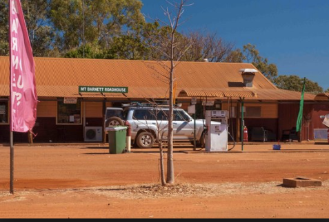 A stop at Mt. Barnet Road House before checking into the Manning River and Gorge campground.