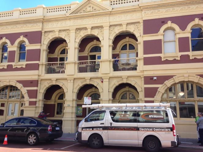 Downtown Fremantle.
