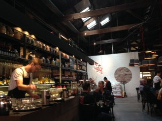 Lunch at one of Fremantle's favorite restaurants, Bread in Common
