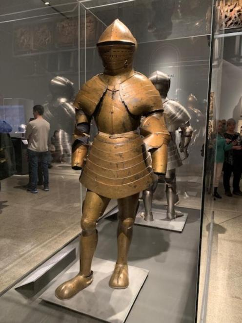 Foot Combat Armor of Maximilian I.