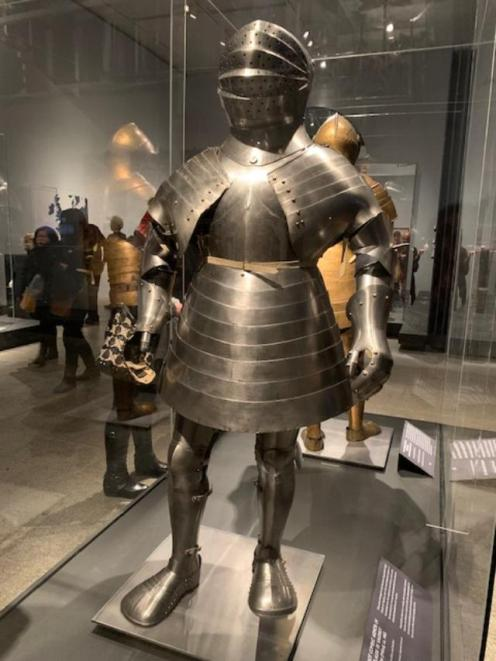 Designed for a contest between two men with polaxes (long battle axes), swords, or daggers inside an inclosure. This was the most frightening of all contests. There were no rules.Talk about trials!